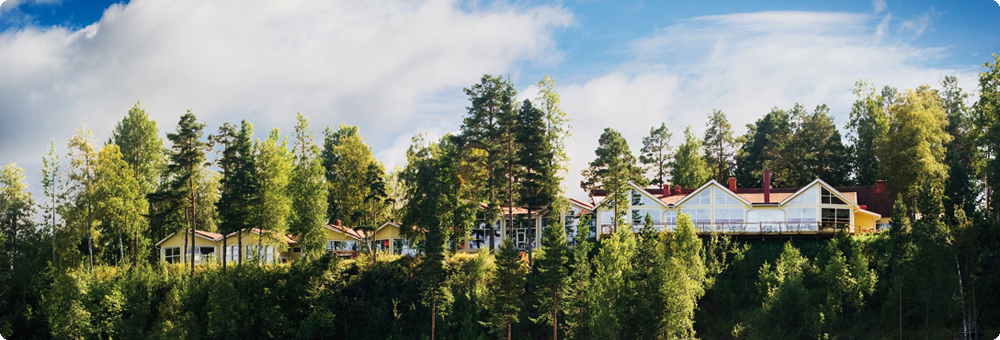Orbaden Spa och Resort i Vallsta